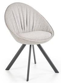 Halmar Chair K358 Light Grey