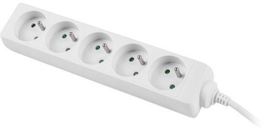 Lanberg Power Strip 1.5m White PS0-05E-0150-W