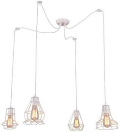 Light Prestige Imperia 4 Ceiling Lamp 4x60W E27 White