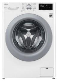 Veļas mašīna LG LG F4WV308N4E, 8 kg, balta/sudraba