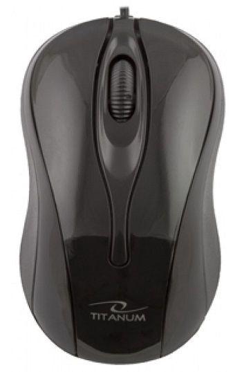 Компьютерная мышь Esperanza Titanum Hornet TM103 Black, проводная, оптическая