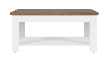 Kafijas galdiņš Black Red White Garum April Oak, 1100x650x505 mm