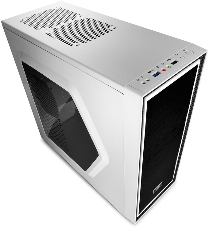 Deepcool Tesseract Middle-Tower ATX w/Side Window White DP-ATX-TSRSWWH