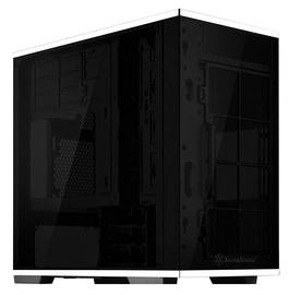 SilverStone Case SST-LD01B Lucid TG White/Black