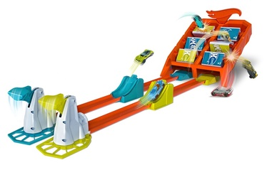 Mattel Hot Wheels Crash & Score Flip Out Set GBF89