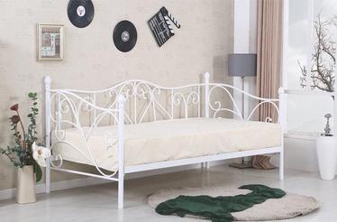 Кровать Halmar Sumatra White, 90 x 200 cm