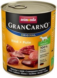 Animonda GranCarno Beef/Turkey 800g