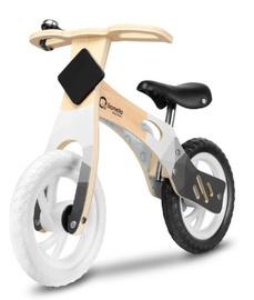 Балансирующий велосипед Lionelo Willy Carbon Black