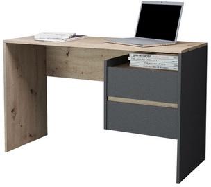 WIPMEB Paco PC-03 Desk Oak/Anthracite