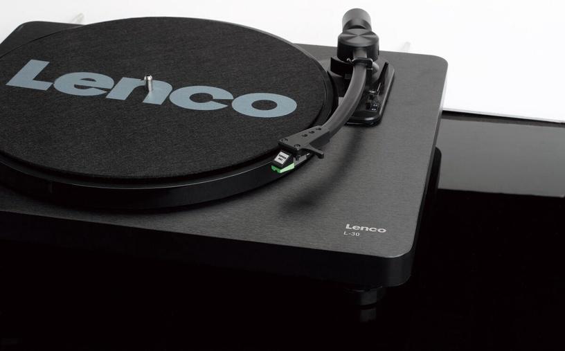 Lenco L-30 Black (поврежденная упаковка)