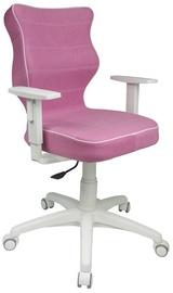 Bērnu krēsls Entelo VS08 White/Pink, 400x370x1000 mm