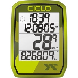 CicloSport Protos 205 Wireless Bike Computer Green