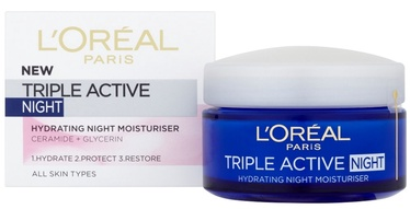 Крем для лица L´Oreal Paris Triple Active Night Cream, 50 мл