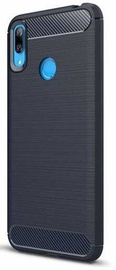Hurtel Carbon Back Case For Huawei Y6 2019 Blue