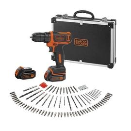 Black & Decker BDCDD12BAFC-QW Cordless Drill with Accessories