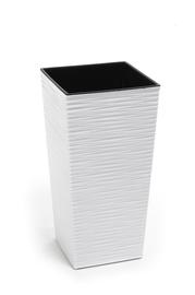 Puķu pods Finezja Dluto, 30x30x57cm, balts