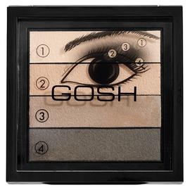 Тени для глаз Gosh Smokey Eyes Palette 02, 8 г