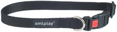 Kaklasiksna Amiplay Basic, melna, 250 - 400 mm x 15 mm