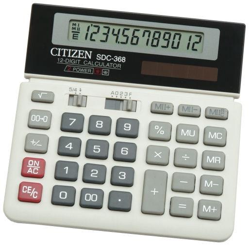 Citizen Office Calculator SDC-368