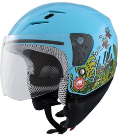 Shiro Helmet SH-20 Forestan Blue M