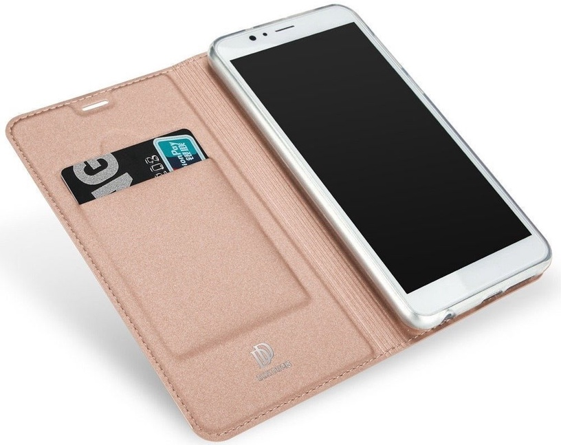 Dux Ducis Premium Magnet Case For Samsung Galaxy A6 Plus A605 Rose Gold