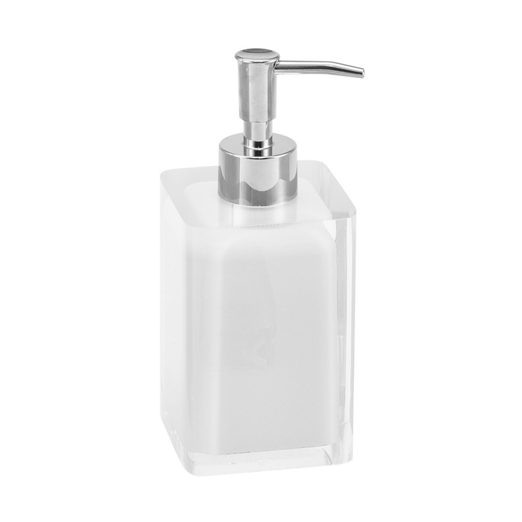 Дозатор для жидкого мыла ANHO BPO-0528-4A White