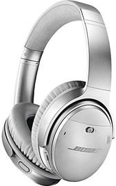 Austiņas Bose QuietComfort 35 II Silver, bezvadu