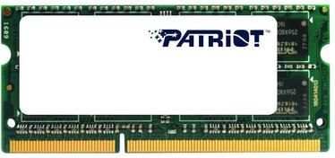 Operatīvā atmiņa (RAM) Patriot PSD34G160081S DDR3 (SO-DIMM) 4 GB CL11 1600 MHz