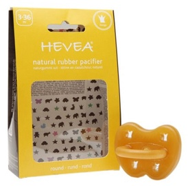 Hevea Crown Anatomical Pacifier 3-36m