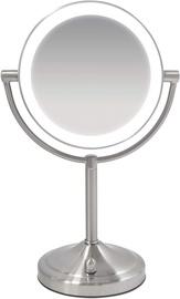 Kosmētiskais spogulis Homedics Wireless & Illuminated MIR-8160 Inox, ar gaismu, stāvošs, 140x140 cm