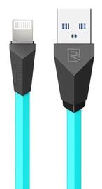 Remax Alien Super Flat Apple Lightning Cable Blue 1m