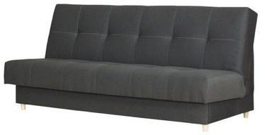 Диван-кровать Bodzio Kortina S2 Graphite, 197 x 90 x 92 см