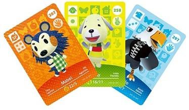 Piederumi Nintendo Amiibo Animal Crossing - Happy Home Designer Cards 3-Pack