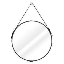 Spogulis Homede Esha Black, stiprināms, 60x60 cm