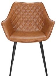 Ēdamistabas krēsls Home4you Naomi Light Brown