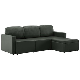 Dīvāngulta VLX 3-Seated 288795, pelēka, 216 x 149 x 72 cm