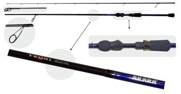 Спиннинг Akara Teuri MLS TX-30 2X, 2300 мм