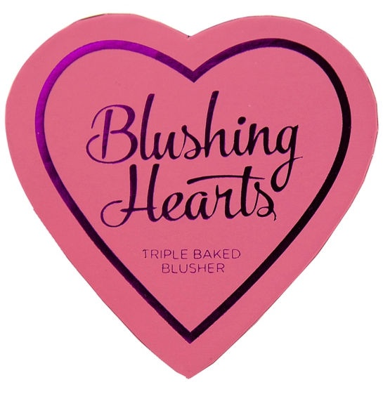 Vaigu ēnas Makeup Revolution London Blushing Hearts Candy Queen Of Hearts, 10 g