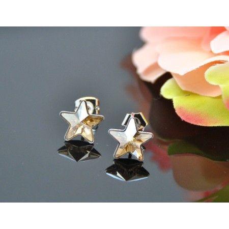 Vincento Earrings With Swarovski Elements Rivoli Star VE-2273