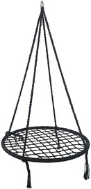 Šūpuļtīkls Royokamp Openwork 1031460, melna, 80 cm