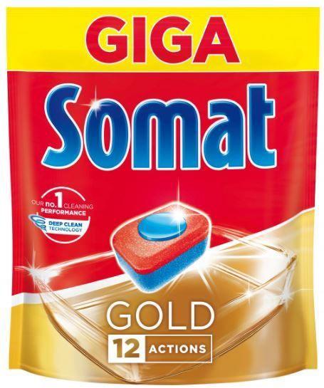 Trauku mazgājamās mašīnas kapsulas Somat Gold Doypack, 72 gab.