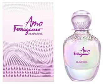 Tualetes ūdens Salvatore Ferragamo Amo Flowerful 100ml EDT