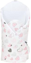 MamoTato Wrap Blanket 78x78cm Hearts