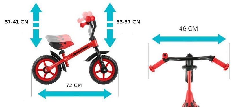 Балансирующий велосипед Milly Mally Dragon Classic