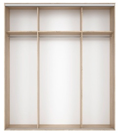 Black Red White Wardrobe Frame Nadir 210 Sonoma Oak