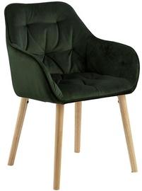 Ēdamistabas krēsls Evelekt Brooke, zaļa