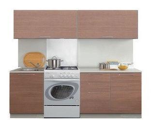 Virtuves komplekts MN Prestige Brown, 2.4 m