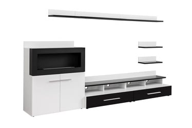 ASM Camino Living Room Wall Unit Set White/Black