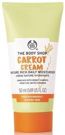 Sejas krēms The Body Shop Carrot Cream Nature Rich Cream, 50 ml