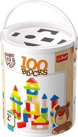 Trefl Wooden Toys Blocks 100pcs